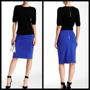 Philisophy royal blue pencil skirt